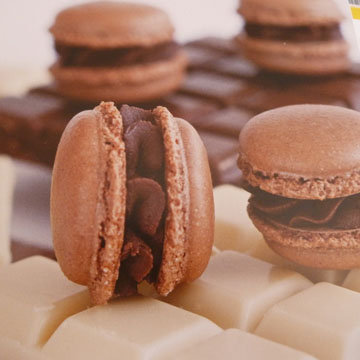 1. Шоколадные макаронс