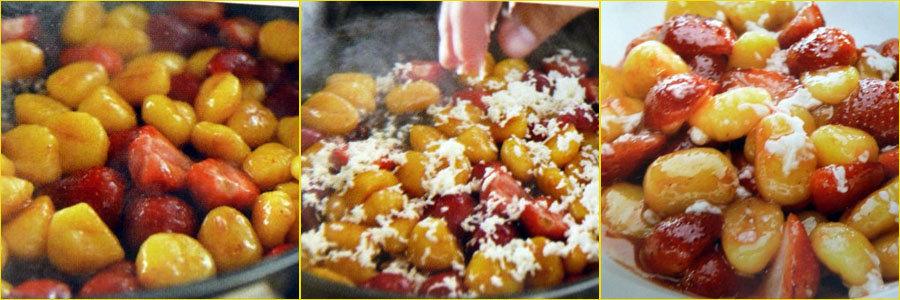2. Второе Для детей паста с ягодами