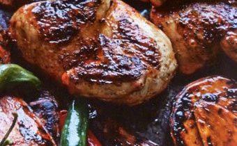 Рецепт запеченной курицы