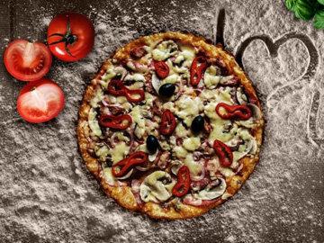 тесто для пиццы на йогурте