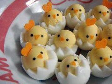 Блюда из яиц - подача и украшение блюд 10