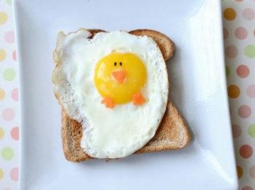 Блюда из яиц - подача и украшение блюд 8