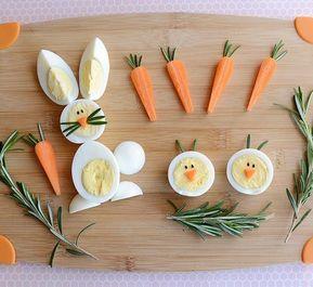 Блюда из яиц - подача и украшение блюд 9
