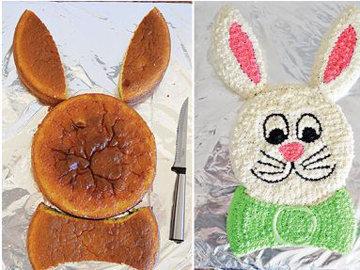 Торт-зайчик 3