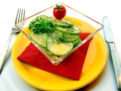 экспресс-салат а ля кимчи из огурца