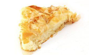 Дрожжевой пирог Butterkuchen