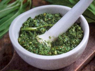 Рецепт черемши с фетой