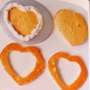 2. Торт для детей Клубничка