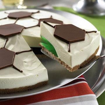 торт без выпечки Футбол