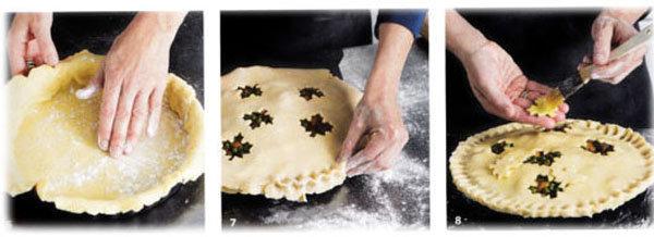 Пирог пай с мясной начинкой (говядина) 3
