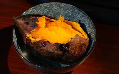 Салат из сладкого картофеля