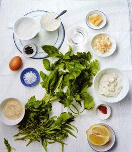 Суп с пахтой и травами 1
