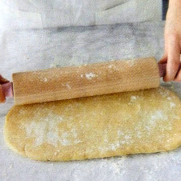 пирог можно оформить очень просто - вот так 1