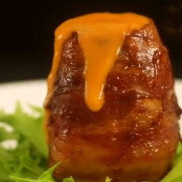 Картофельный вулкан с сыром 7