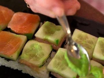 Суши в формочках
