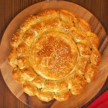 Сырное фондю с колбасками 9