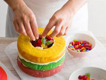 Торт М&М 4