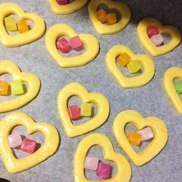 печенье с окошками 1