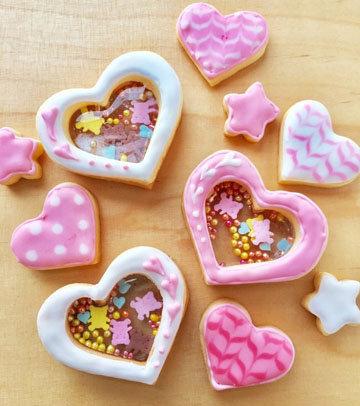 печенье с окошками 2