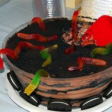 Десерт из земли