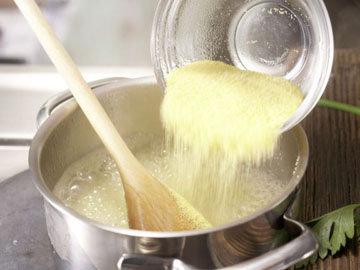 Кулинарный мастер класс Кукурузные оладьи 1
