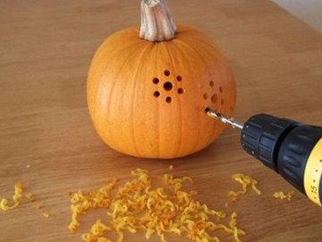Тыква на Хэллоуин 1