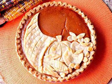 Тыквенный пирог Осенний 1