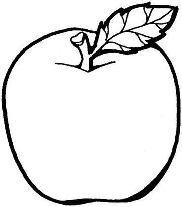 вырезать по шаблонам фрукты