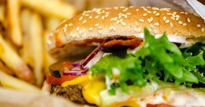 Домашний бургер вегетарианский