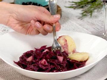 Рецепт гуся и красная капуста - отличная парочка