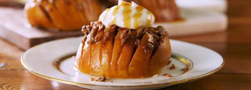 Slider Яблочный десерт