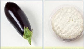 Баклажан и сыр