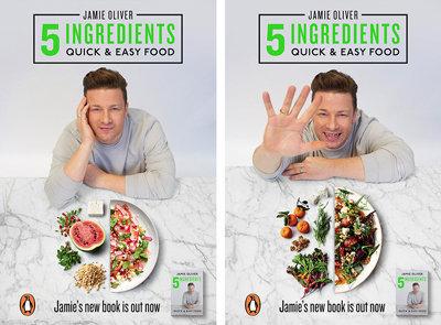 Джейми Оливер издал книгу рецептов всего из 5 ингредиентов