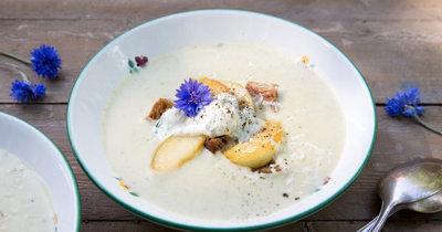 Картофельный суп рецепт с яблоком
