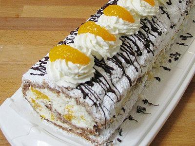 Торт безе Будапештский рулет