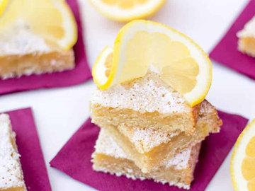 Выпечка лимонные пирожные