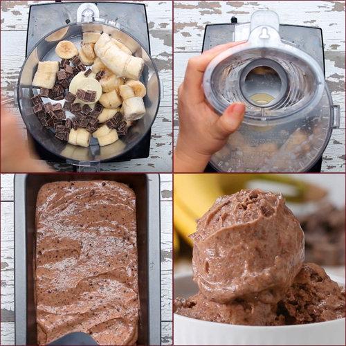 Десерт шоколадное мороженое 1