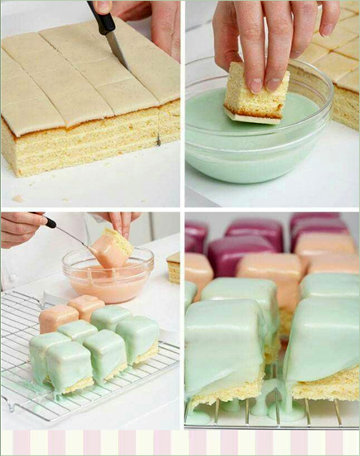Кулинарный мастер класс торт Кубик Рубика (пошаговый рецепт с фото)