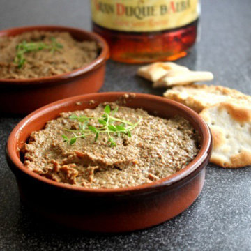 Рецепт печеночного паштета французской кухни
