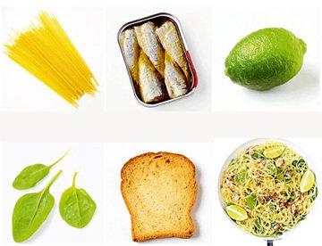 5a. Спагетти с сардинами
