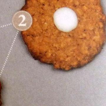 Мастер класс Овсяное печенье украшение цветы ветреницы 2