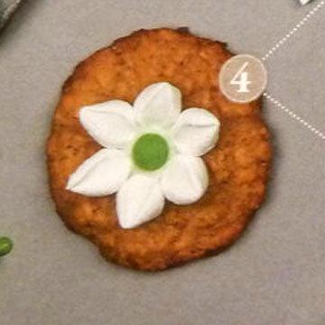 Мастер класс Овсяное печенье украшение цветы ветреницы 4