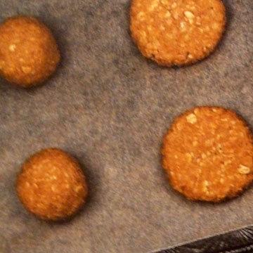 Мастер класс Овсяное печенье