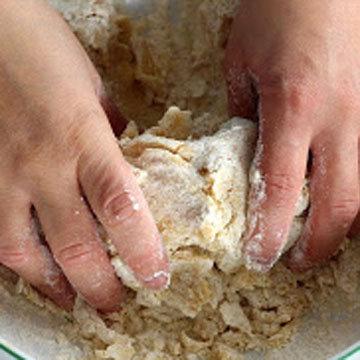 Песочная основа торта 4