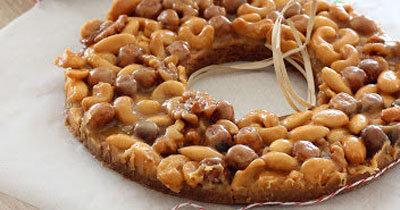 Торт с орехами Карамельное кольцо