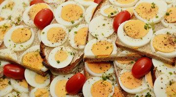 Яйца дают энергию на весь день