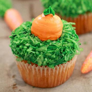 Капкейки Морковка 1