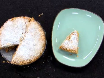 Яблочный закрытый пирог
