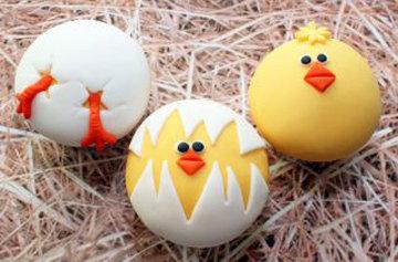 яйца превращаются, превращаются в цыплят