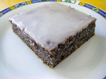 4. Маковый пирог